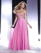 Новое Стильное платье фатин 2020 официальное вечернее Розовое