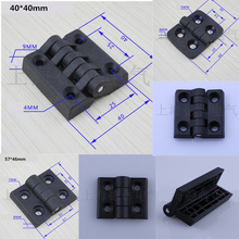 10pcs/lot Nylon hinges durable Mini Butterfly Door Hinges Cabinet Drawer Jewellery Box Decor Hinge For Furniture Hardware