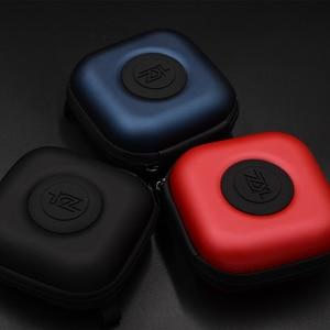 Image 2 - Kz original caso do plutônio saco fone de ouvido acessórios protable caso de absorção choque pressão armazenamento pacote saco com logotipo