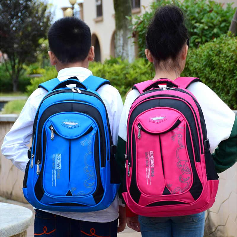 2020 di marca sacchetto di Scuola Zaino Impermeabile Borse Da Scuola Per Adolescenti Ragazzi Delle Ragazze Zaini Grande Capacità Bookbag Bambino Borse Zaino