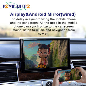 Image 5 - Joyeauto אלחוטי Apple Carplay לאאודי A1 A3 A4 A5 A6 A7 A8 Q3 Q5 Q7 C6 MMI 3G 2G RMC 2005  2018 iOS13 אנדרואיד מראה רכב לשחק