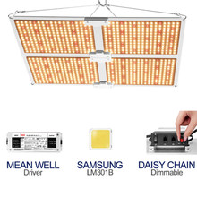 1000W 2000W 4000W Samsung LM301B Plant Grow Lamp For Indoor LED Full Spectrum Grow Light Dimmable Quantum Tech Board fitolampy