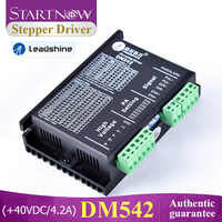 Startnow DM542 Analog Stepper Motor Driver 2 Phase 20-50VDC Max 4.2A Digital Leadshine Driver For CO2 Cutting Machine