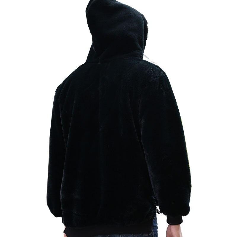 Тигр вышивка японский пуловер толстовки для мужчин и женщин 2019 хип хоп повседневные толстовки с капюшоном уличная Черная Толстовка GM126 - 3