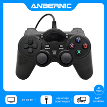 ANBERNIC USB Wired Controller Android Gamepad 360 Joystick For Sony PS3 Xinput PC Win7 Retro Game RG350 RG350M XPro Video Player геймпад беспроводной sven gc 3050 13 кл 2 мини джойстика d pad soft touch pc ps3 xinput