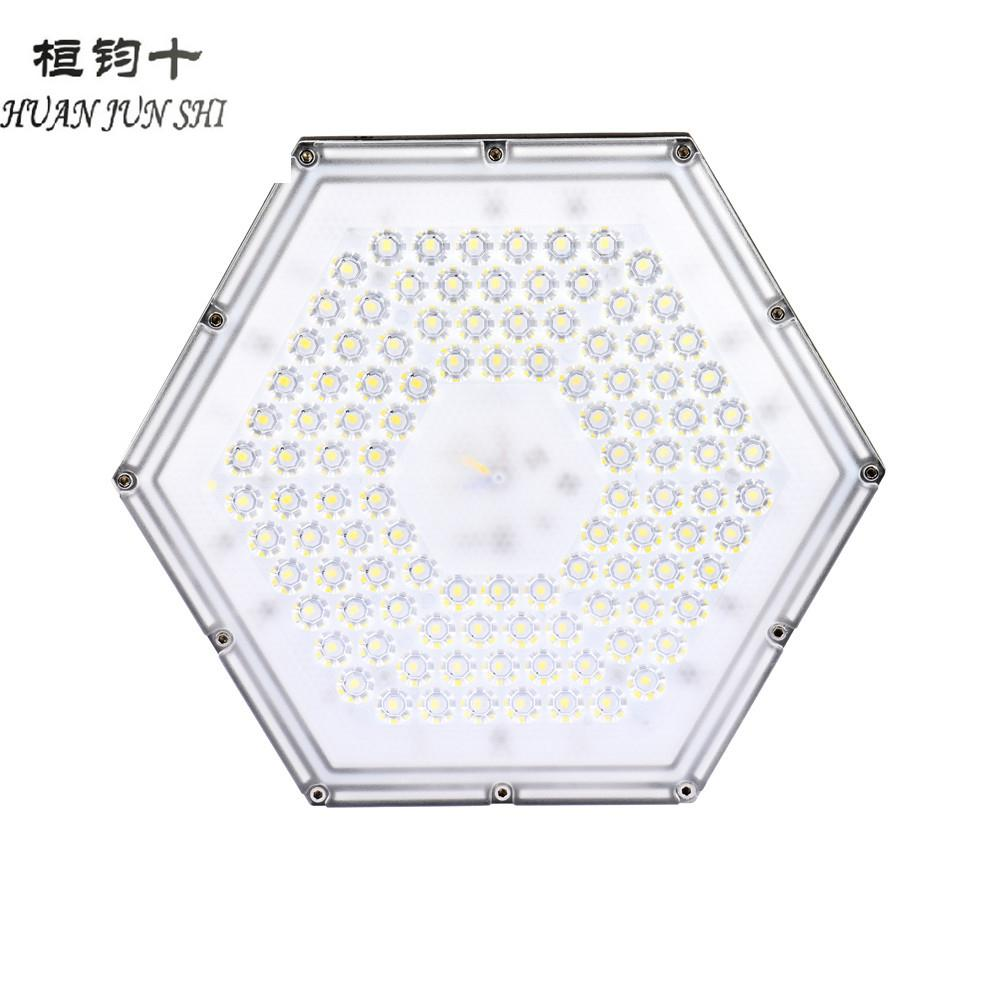 100W 300 W 110v LED High Bay Lighting,Waterproof IP65 Hexagon Hanging Chain Light For Warehouse, Industrial Commercial Lighting