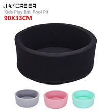 JayCreer – piscine à balles en éponge de qualité pour enfants, jeu d'intérieur doux et confortable, forme ronde, idéal comme cadeau
