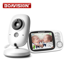 3.2 인치 LCD 비디오 베이비 모니터 2.4G 무선 2 웨이 오디오 비비 캠 나이트 비전 감시 보안 카메라 베이비 시터 VB603