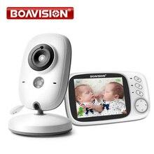 3.2 นิ้ว LCD Video Baby Monitor 2.4G ไร้สาย 2 WAY Audio Bebe CAM Night Vision การเฝ้าระวังการรักษาความปลอดภัยกล้องเด็ก VB603