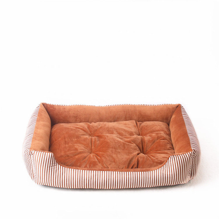 baby soft large Pet Dog Bed Cat kennel Warm Cozy Dog House Soft Fleece Nest Dog Baskets Mat Autumn Winter Waterproof Kennel 10