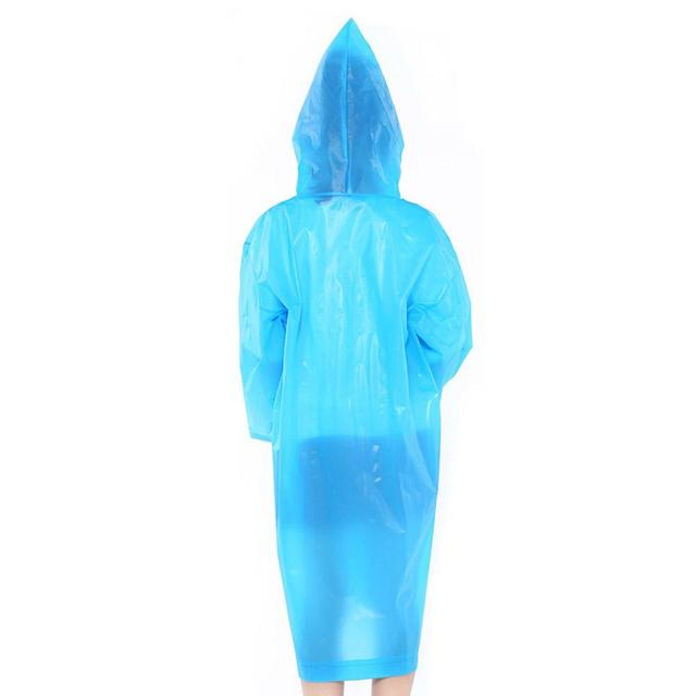 Outdoor Portable Children's Waterproof Hooded  Recycle Thickening Raincoat wer