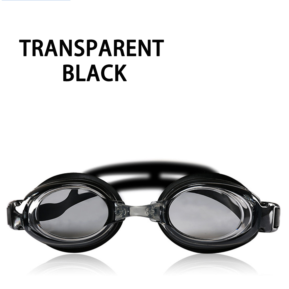 Оптическая близорукость плавательные очки 200-800 градусов Силиконовые противотуманные водная диоптрия плавательные очки для мужчин и женщин очки по рецепту - Цвет: Black