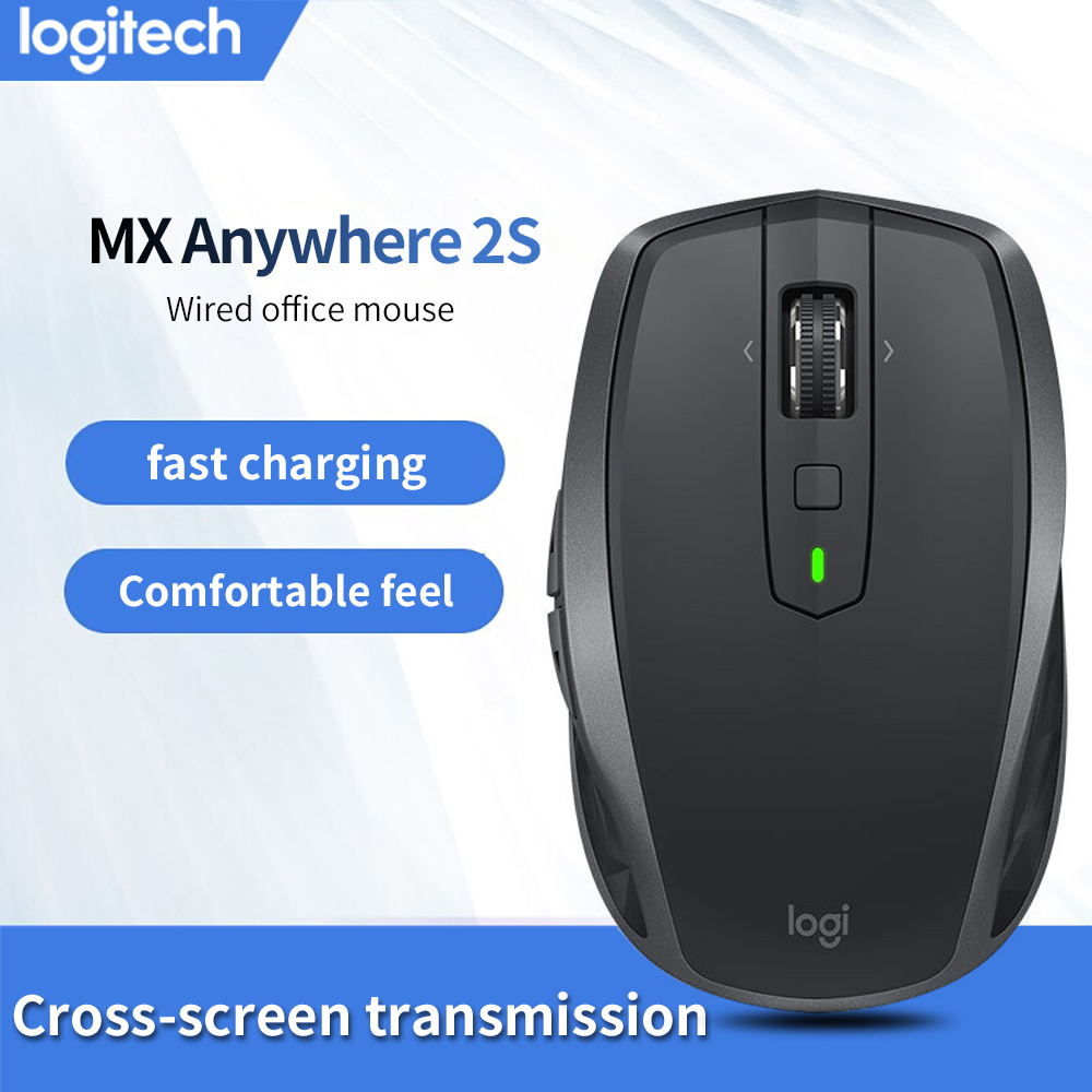 Logitech MX ANYWHERE 2S Wireless Mouse Bluetooth Excellent Dual ModeCross  Computer Control MX Anywhere2S Black/White/Blue|Mice| - AliExpress