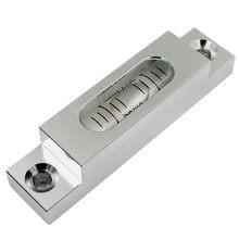 Alta precisão tira da liga de alumínio longa bolha horizontal mini nível bolha instrumento de medição