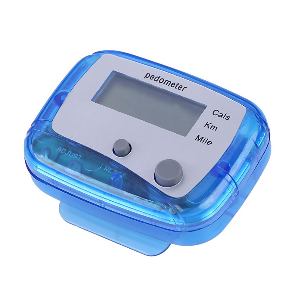 Multifunctional Running Fitness LCD Counter Clip Electronic Pedometer High-tech Toy Products
