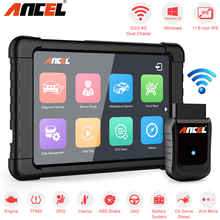 OBD OBD2 Scanner automobilistico Ancel X5 Plus WIFI Windows Tablet strumento diagnostico per auto Airbag DPF EPB ABS Reset diagnosi completa del sistema