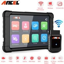 Scanner automobile OBD OBD2 Ancel X5 Plus WIFI Windows tablette outil de Diagnostic de voiture Airbag DPF EPB ABS réinitialiser le Diagnostic complet du système