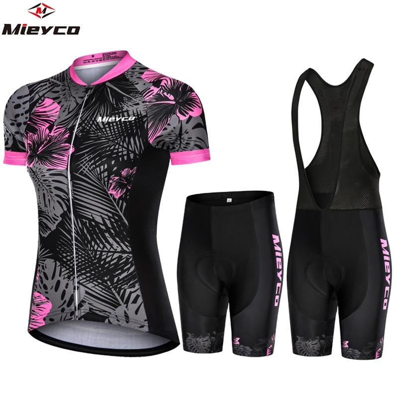 Bicycle Woman Cycling Clothing Mountain Bike Cycling Jersey Shorts Women Road Bike Shorts And T-shirt Jumpsuit Cycling Suit Mtb