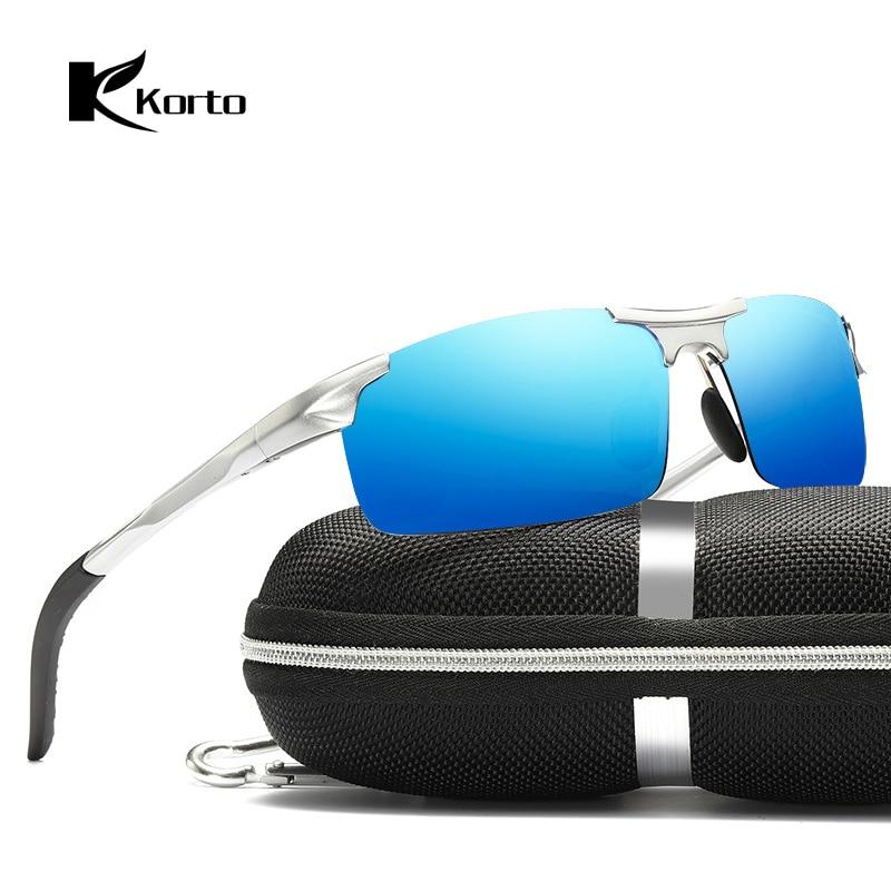 Aluminum magnesium Polarized Sunglasses Men Brand Designer Sports Glasses Rectangle Sun glasses Driving Goggles Gafas De Sol in Men 39 s Sunglasses from Apparel Accessories