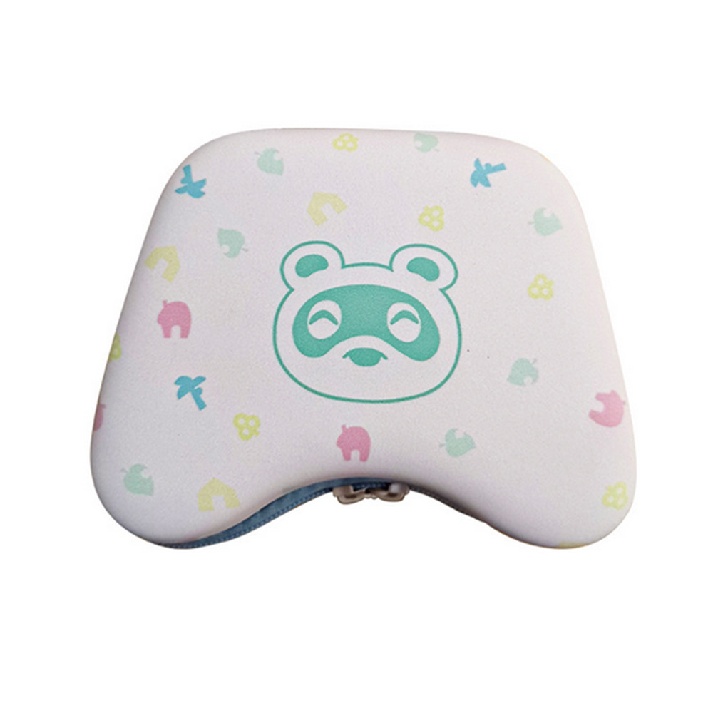 Portable Game Console Storage Bag Small Fresh Hard Case for Switch Pro/XBOX One for animal crossing pattern Accessories