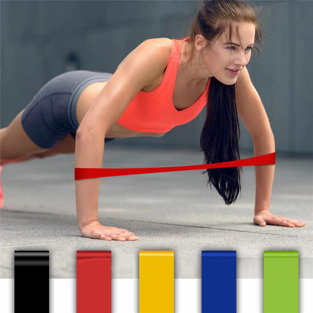 Joga Crossfit zespoły oporu ustawia 3/4/6 szkolenia na poziomie gumki recepturki Pilates siłownia Fitness Expander do treningów i ćwiczeń sprzęt
