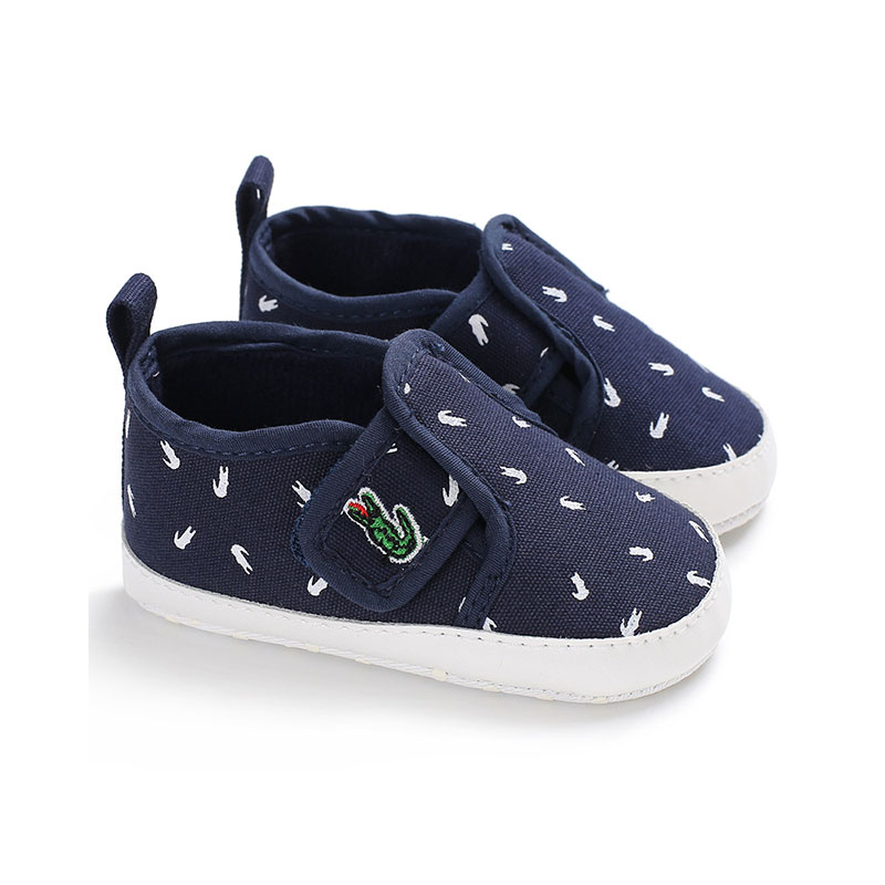 New Canvas Classic Sports Sneakers Newborn Baby Boys Girls First Walkers Shoes Infant Toddler Soft Sole Anti-slip Baby Shoes image