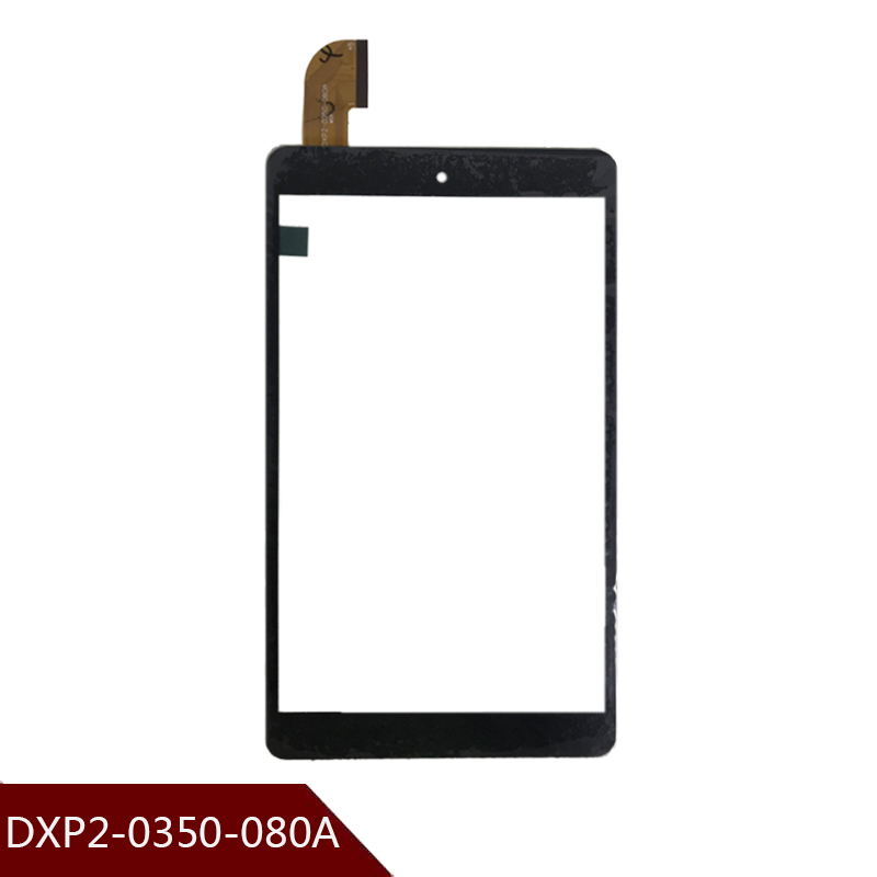 8'' Inch Black 100% New For Teclast P80h P88T Tablet DXP2-0350-080A HXS. Authentic Touch Screen Handwriting Screen Free Shipping