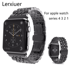 Stainless Steel Strap For Apple watch band 4 44mm 40mm iwatch 42mm 38mm band metal Link Bracelet apple watch 4 3 2 1 Accessories все цены