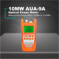 10MW AUA 9A Optical Power Meter Red Light Source One Machine Light Failure Fault Detector Decay Tester Light Pen 10km