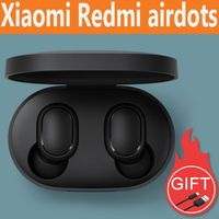 Original Xiaomi Redmi Airdots Wireless Headphoens Bluetooth 5.0 TWS Earphone 3D Bass Stereo Earphoens Headset XioMi Mi9 Mi 9