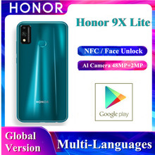In Stock Huawei Original Honor 9x Lite Smartphone Global Version Kirin 710 NFC P