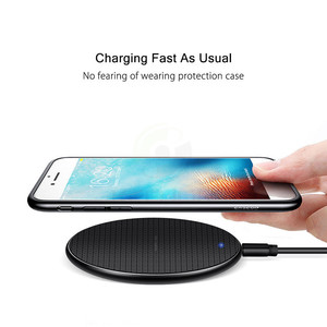 Image 3 - Keajor 10W Wireless Charger สำหรับ iPhone 11 Mini แบบพกพา QI ไร้สายชาร์จสำหรับ Samsung S10 S9 S8 Xiaomi huawei Charger