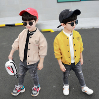 Boys Kids Jacket Boutique Children Toddler Top 2019 Fashion Spring Autumn Fall 2 3 4 5 6 7 8 9 Years