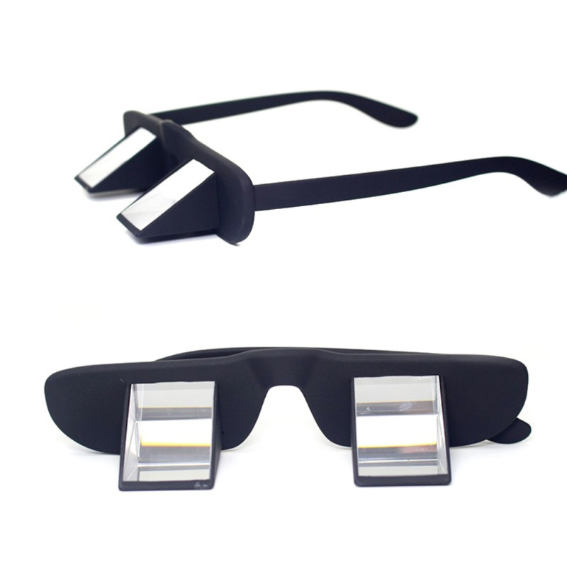 Lazy Polarization Refractive Glasses Climbing Hiking Goggles Prism Spectacles Eyewear For Reading Watching TV