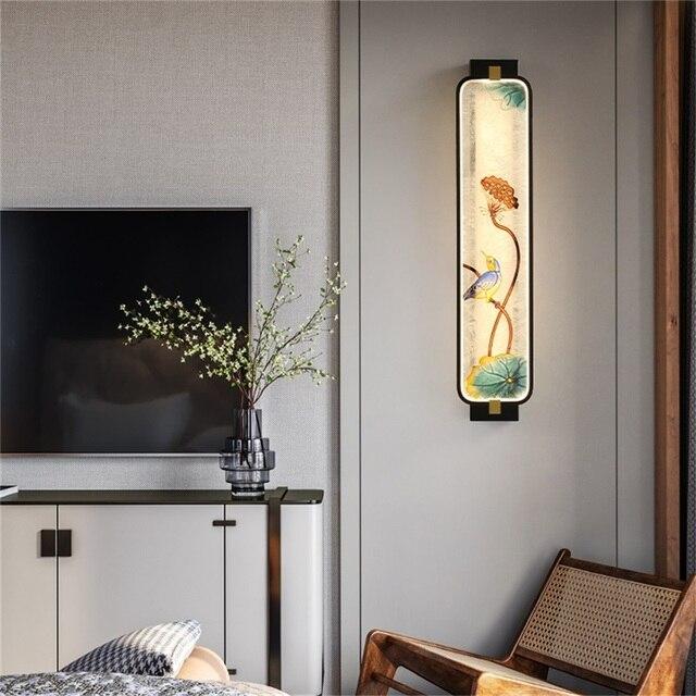 Фото современные настенные светильники oufula оригинальные комнатные цена