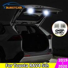 Xburstcar-éclairage pour coffre, lampe de valise, accessoires pour Toyota RAV4 4 5e 2019, 2020, feu arrière de voiture à LED