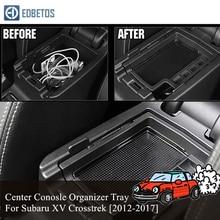 스바루 XV Crosstrek 2012   2014 2015 2016 2017 팔걸이 수납 박스 컨테이너 자동차 용품 살롱 용 인테리어 용품