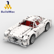 BuildMoc Creator Fit Legoings Technik Mercedes-SL300 Fernbedienung Bausteine Bricks Set Kid Spielzeug Kinder Geschenk(China)