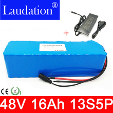 13s5p High Power 48V 16AH Electric Bike Battery 48V16AH E-bike 48 Volt Lithium with 30A BMS 2a charger Laudation