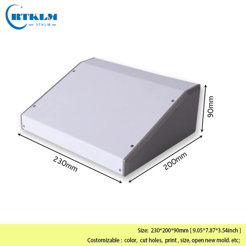 5x Aluminum Project Box Aluminum Enclosure Case Electronic DIY/_small brand new