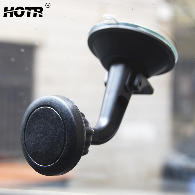Магнитный автомобильный держатель для телефона с поворотом на 360 градусов, держатель для лобового стекла с GPS-дисплеем