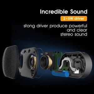Image 3 - GGMM E2 Bluetooth Lautsprecher Tragbare 10W Wahre Wireless WiFi Smart Lautsprecher 15H Spielen zeit Klar Stereo Sound mini Lautsprecher Blutooth
