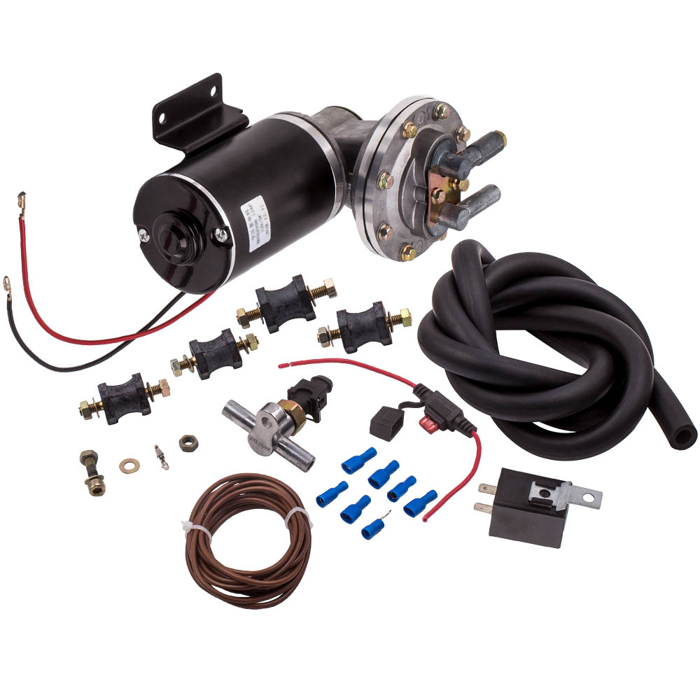 18inch to 22inch Electric Vacuum Pump Kit Mounting Hardware for Brake Booster 12 Volt