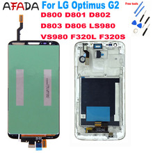 AAA+ For LG Optimus G2 D800 D801 D802 D803 D806 LS980 VS980 F320L F320S LCD Display Touch Screen Digitizer Assembly цена 2017
