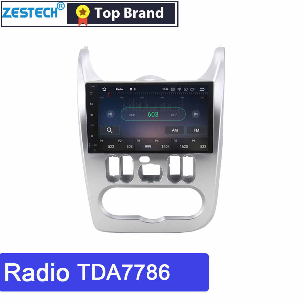 ZESTECH 1 ディンアンドロイド Gps マルチメディアルノーサンデロマルチメディア Logan ダスター Dacia Lergus ヘッドユニットカー DVD