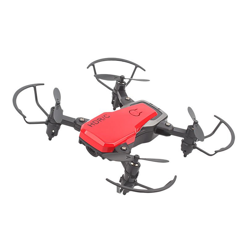 Cross Border Mini Folding Quadcopter Pressure Set High Unmanned Aerial Photographic Vehicle Wide Angle Lens Aircraft
