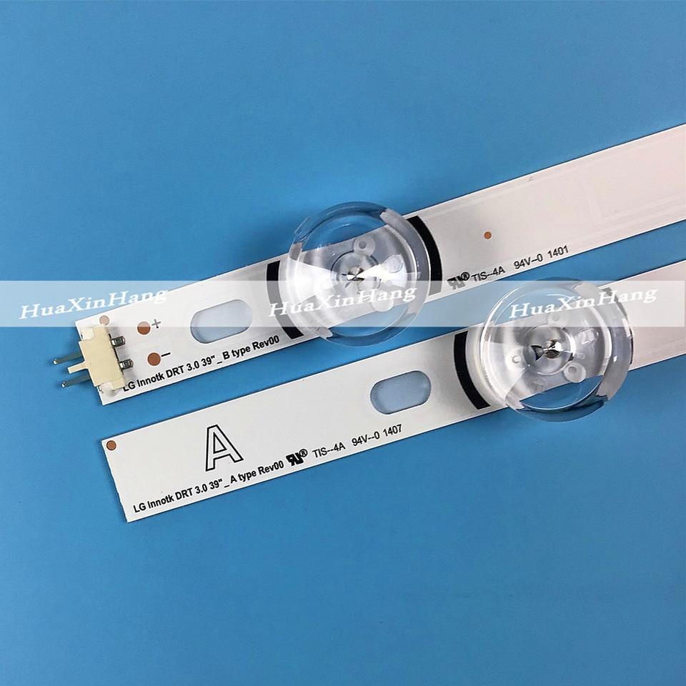 Occus Cable Length: Other Cables 807mm LED Backlight Lamp Strip 8 LEDs for LG 39 inch TV 390HVJ01 lnnotek DRT 3.0 39/_A//B Type Rev01 39LB561V 39LB5800 39LB5610