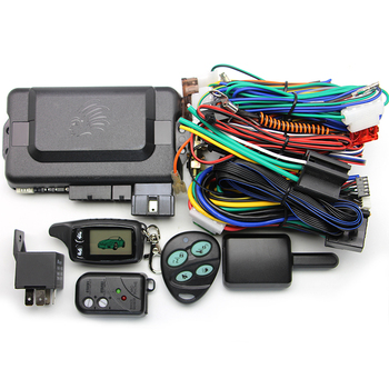 Russia Version TW9030 Two Way Car Alarm System with LCD Remote Engine Start 2-way Car Alarm TW9030 Car Alarm for Car
