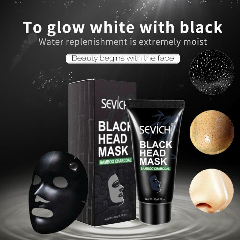 60 г на нос от черных точек маска для очистки пор очиститель, для лечения прыщей, маски для лица глубокой Cleasing черных точек пятен снятие накле...