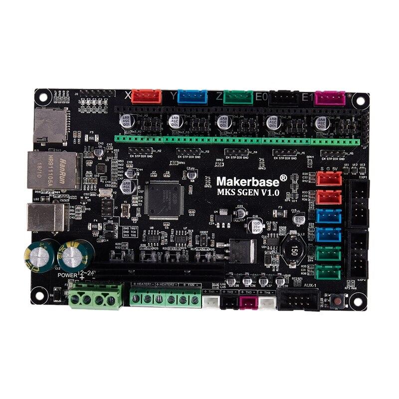 3D Printer Control Board MKS SGEN V1.0 32 Bit CPU ARM Motherboard Smoothieboard Compatible Smoothieware Similar MKS GEN L|3D Printer Parts & Accessories| |  - title=